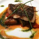 WINE&RESTAURANT SABRAGE - 銀カレイのポワレ 秋野菜のラタトゥユ添え