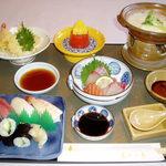 もみの木 - 料理写真:温泉豆腐御膳