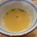 24294173 - シラスと貝の出汁の汁モノ