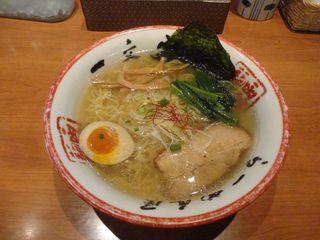 函館麺や 一文字 函館本店 - 塩ラーメン