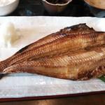 24295083 - ホッケ焼(特大)定食 850円