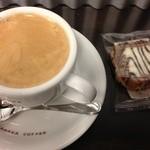 やなか珈琲店 - 本日のコーヒーを焼き菓子とともに