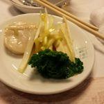 彩園 - 黄ニラとホタテの炒め