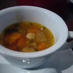 Paul - 牛蒡と野菜たっぷりのミネストローネスープ(取分け後)