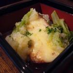 Paul - 鰆のモッツァレラチーズ焼き白蕪のソース