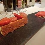 レストラン ラ フィネス - 苺のミルフィーユ