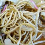 春来軒 - 「ばりそば」バリバリに揚がった硬い麺(標準)