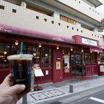 カフェ ベローチェ - 中野駅南口、高円寺方向に線路沿いを行ってすぐ。