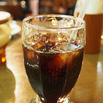 ちいさなフライパン - ランチセットのアイスコーヒー