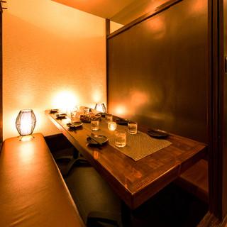 ◆完全個室完備◆少人数~団体様まで個室席へご案内♪歓送迎会に