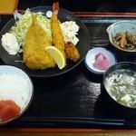 あび子 - 海鮮ミックスフライ定食(980円)