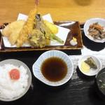 あび子 - 天ぷら定食(980円)