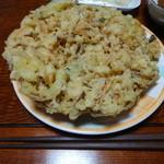 惣菜店のくりや - かき揚げ150円