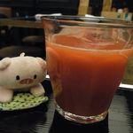 セントベーネ - ブラッドオレンジジュースも飲み放題!