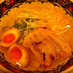 味噌乃家 - 味玉柚子塩ラーメン:780円