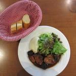 24304175 - 今日の料理(豚肩肉のプルーン煮込み) 1050円