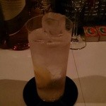 Milk Bar - ライチリキュールのソーダ割り
