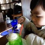 ヒヨリ+キッサ - メロンクリームソーダ