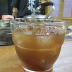 鉄板焼 和 - 沖縄産 黒糖梅酒 600円