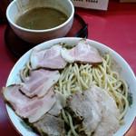 麺処 若松 - 江戸煮干(大盛、チャーシュー追加)