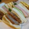 グルメ - 料理写真:3種サンド