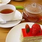ル プティット ジョワ - 料理写真:ケーキセットダージリンで