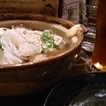 梅田日本酒ニューエビス - おでん土鍋煮込み