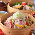 ニライカナイ - アグー豚と旬菜の華せいろコース