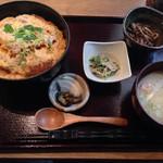 和食堂 穰(ゆたか) - 201309 かつ丼750円