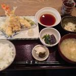 和食堂 穰(ゆたか) - 201309 天ぷら定食980円