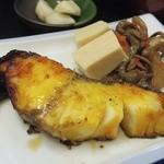お食事処 さと - 銀タラ味噌焼き