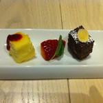 TORRANCE BAYSIDE CAFE - サービスデザート。こちらも美味しかったのでした。。!!