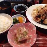 たこ柾 - 唐揚げ定食 850円