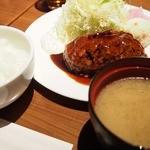 SAKE bistro W by夢酒 - ●『Bistroハンバーグセット』1,000円