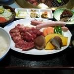 24314361 - カルビ定食(大盛り)