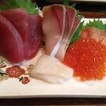 浜焼酒場 魚○ - お刺身