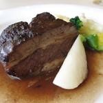 24314734 - ブフ・ブルギニヨン(牛肉の赤ワイン煮込み、ブルゴーニュ風)