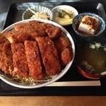昭和園 - ソースかつ丼・2枚つき¥1,500