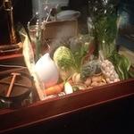 24315872 - 入ってすぐに珍しい野菜や果物たちが目にはいります。いちごないかな~