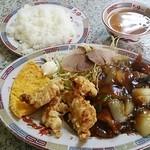 ちゅー - 酢豚定食