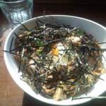 スハネフ14-1 - わさびバター醤油豚DON サラダ・スープ付800円