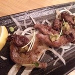 肉料理ひら井 - 牛炙り ワサビのせ