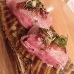 肉料理ひら井 - 牛炙りの握り