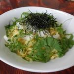 イタリアン食堂 良's - ヤリイカと大葉の和風ゆずこしょう風味(タリオリーニ)