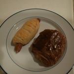 ドミニク・サブロン ラピッド - チョコデニッシュとソーセージパン