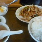 生香楼 - 豚生姜焼定食(ご飯大盛)