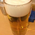 立呑処へそ - 2014.2.12 やっぱビール〜( ^ω^ )晩酌セット780円!