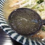 めんや 薫寿 - <'14/02/12>薫寿そば(大盛)