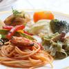 ナチュラルガーデン - 料理写真:ムール貝のトマトソース パスタ