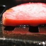 肉屋 弘商店 - 厚切りハムみたい。